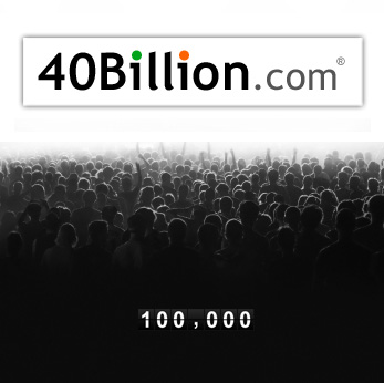 40Billion hits 100,000 followers on Twitter