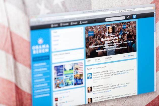 Barack Obama Twitter Fan Page
